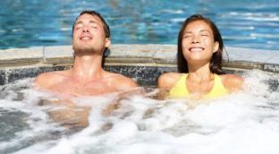 Whirlpool, Dry Sauna and Steam Rooms